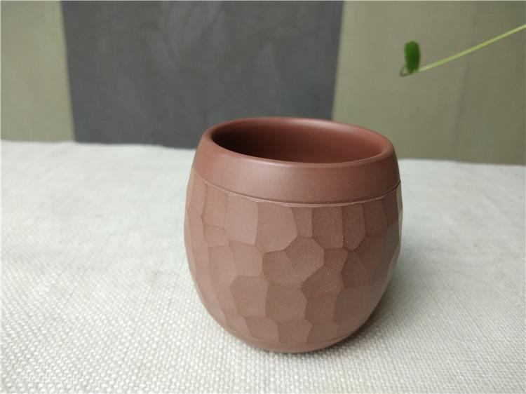坭兴陶主人杯,陶瓷主人杯,钦州陶茶杯