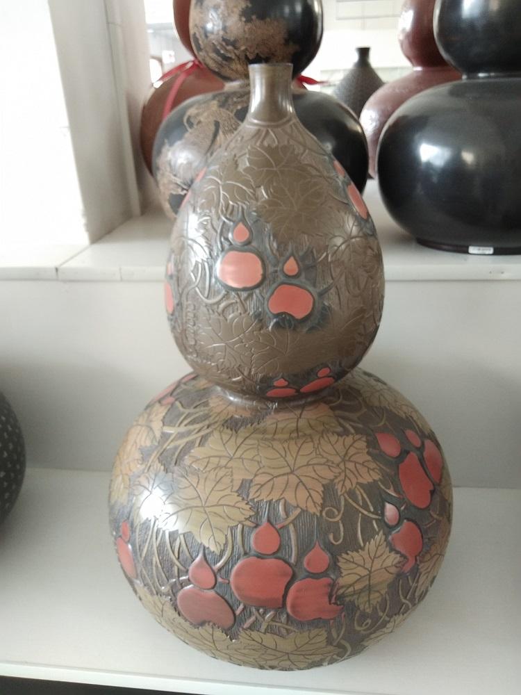 坭兴陶大花瓶