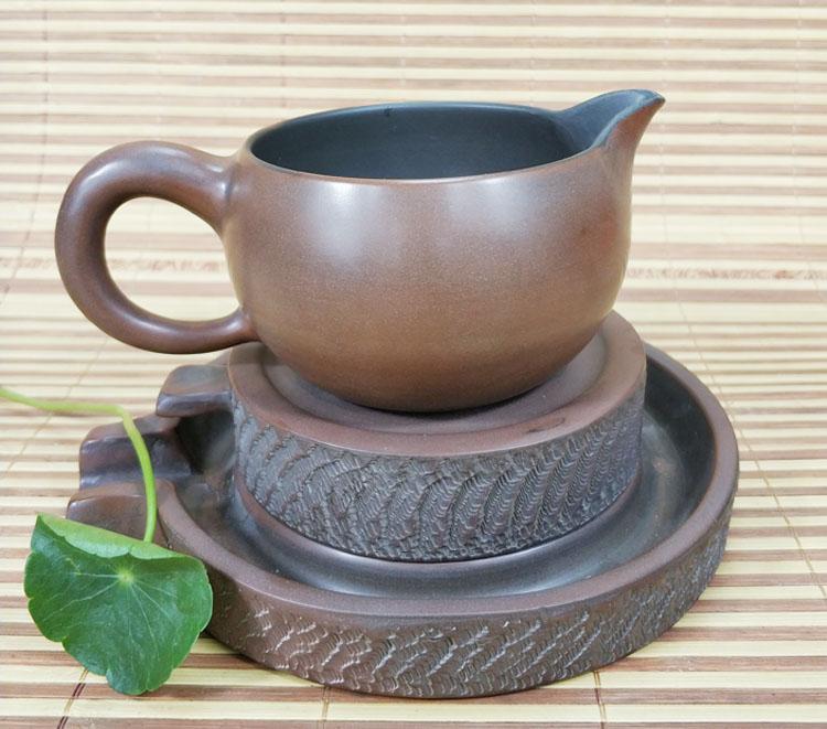 钦州坭兴陶茶具配套配件坭