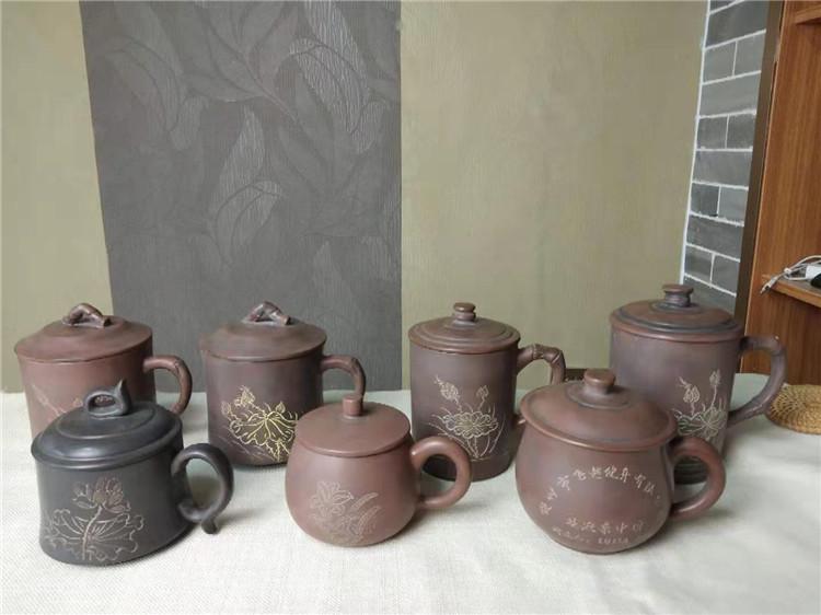 坭兴陶活动订制水杯-纪念水杯-公司送礼水杯