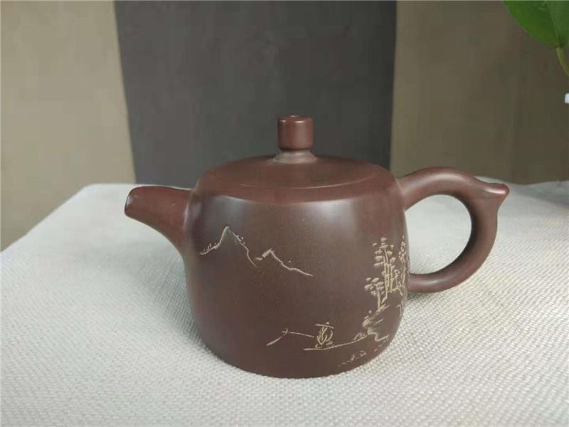 省级大师张振和坭兴陶茶壶