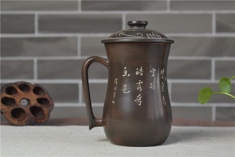 广西水杯批发坭兴陶
